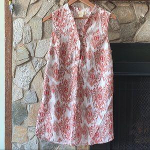 Anthropologie Lucy & Laurel Linen Summer Dress